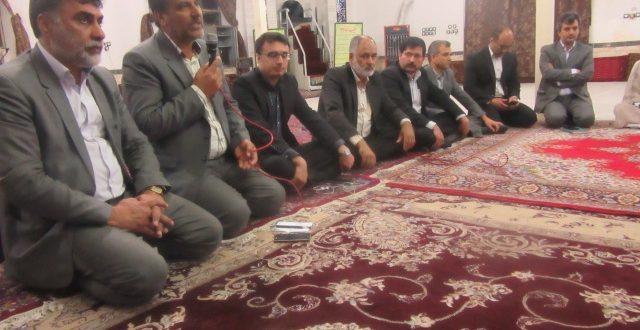 شهردار و اعضای شورای شهرتایباد در جمع اهالی خیام، به مسائل این منطقه پرداختند.