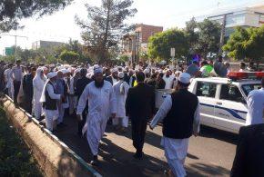 کلیه تمهیدات لازم جهت مراسم تشیع باشکوه پیکر مطهر مولانا حیدری توسط شهرداری تایباد انجام گرفته شد.