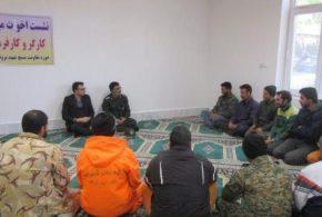 به مناسبت هفته بسیج، حلقه صالحین کارکنان و بسیجیان شهرداری تایباد برگزار شد.