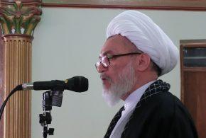 حجه السلام ملکی امام جمعه شهرستان، در خطبههای نمازجمعه، از فعالیتها و عملکرد شهرداری تایباد تقدیر نمود.
