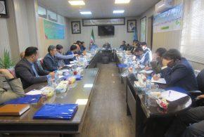 گردهمایی مسئولین حراست فرمانداریها و شهرداریهای شرق استان به میزبانی شهرداری تایباد برگزار گردید