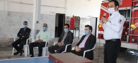 شهردار تایباد از ارتقای درجه و کسب عنوان مقام قهرمانی، تنی چنداز آتش نشانان سازمان آتشنشانی و خدمات ایمنی شهرداری تایباد در کشور خبر داد
