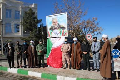 دوبلوار از بلوارهای مهم شهر تایباد، مزین بنام سردار شهید سپهبد قاسم سلیمانی و شهید فخریزاده گردید.