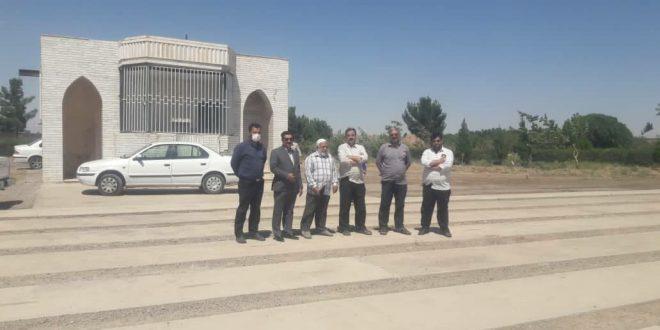 مهندس ابراهیم قاسمی: مصلی های شهر تایباد برای برگزاری مراسم عید قربان آماده شدند.