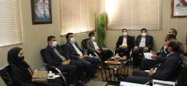 نشست اعضای شورای اسلامی شهر و شهردار تایباد با مدیر امور اتباع و مهاجرین خارجی شهرستان تایباد