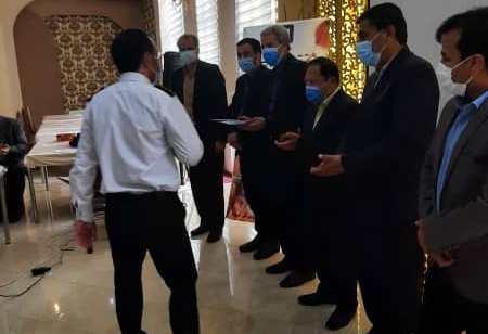 آئین تجلیل از آتشنشانان شهرداری تایباد بمناسبت ۷مهر روزملی ایمنی و آتشنشانی برگزار شد.