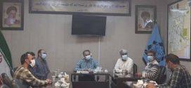 دیدار شهردار و  اعضای شورای شهر مشهدریزه با شهردار و معاونت شهرداری تایباد…