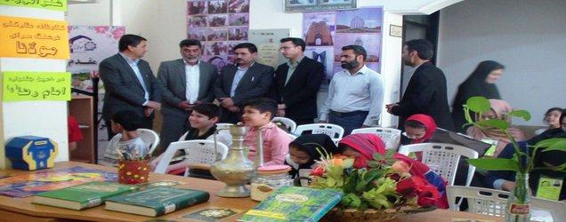 نمایشگاه آثار رضوی فراگیران فرهنگسرای مولانا برگزار شد
