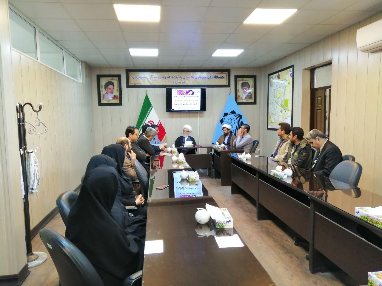 دیدار امام جمعه تایباد با شهردار و کارکنان شهرداری تایباد