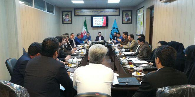 نشست شهرداران ومسئولان امور اداری و مالی شهرداریهای شرق خراسان رضوی به میزبانی تایباد برگزار شد.