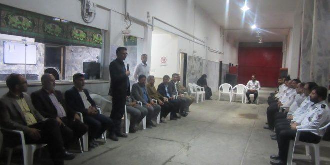 مراسم تجلیل از آتش نشانان شهرداری تایباد در محل ایستگاه آتش نشانی تایباد برگزار شد.