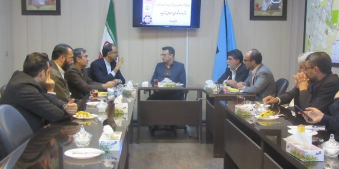 در دیدار مدیرعامل سازمان همیاری شهرداریهای خراسان رضوی، با اعضای شورای شهر وشهردارتایباد، به ضرورت تعامل بین طرفین تاکید گردید.