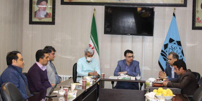 ستاد مدیریت بحران شهرداری تایباد برای مقابله با ویروس کرونا تشکیل جلسه داد.