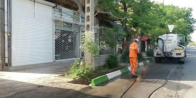 شهردار تایباد : برغم تلاش برای ضدعفونی و گندزدائی شهر، هنوز خطر ابتلا شهروندان به ویروس کرونا وجود دارد.