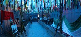 نمایشگاه جهاد و شهادت، بمناسبت هفته دفاع مقدس راه اندازی شد.