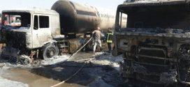 با انجام۱۲ ساعت عملیات نفسگیر، آتش سوزی در منطقه مرز دوغارون مهار شد